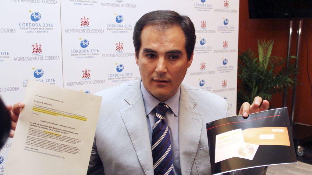 El alcalde de Córdoba denuncia que el jurado recibió presiones para elegir a San Sebastián. Foto: Efe