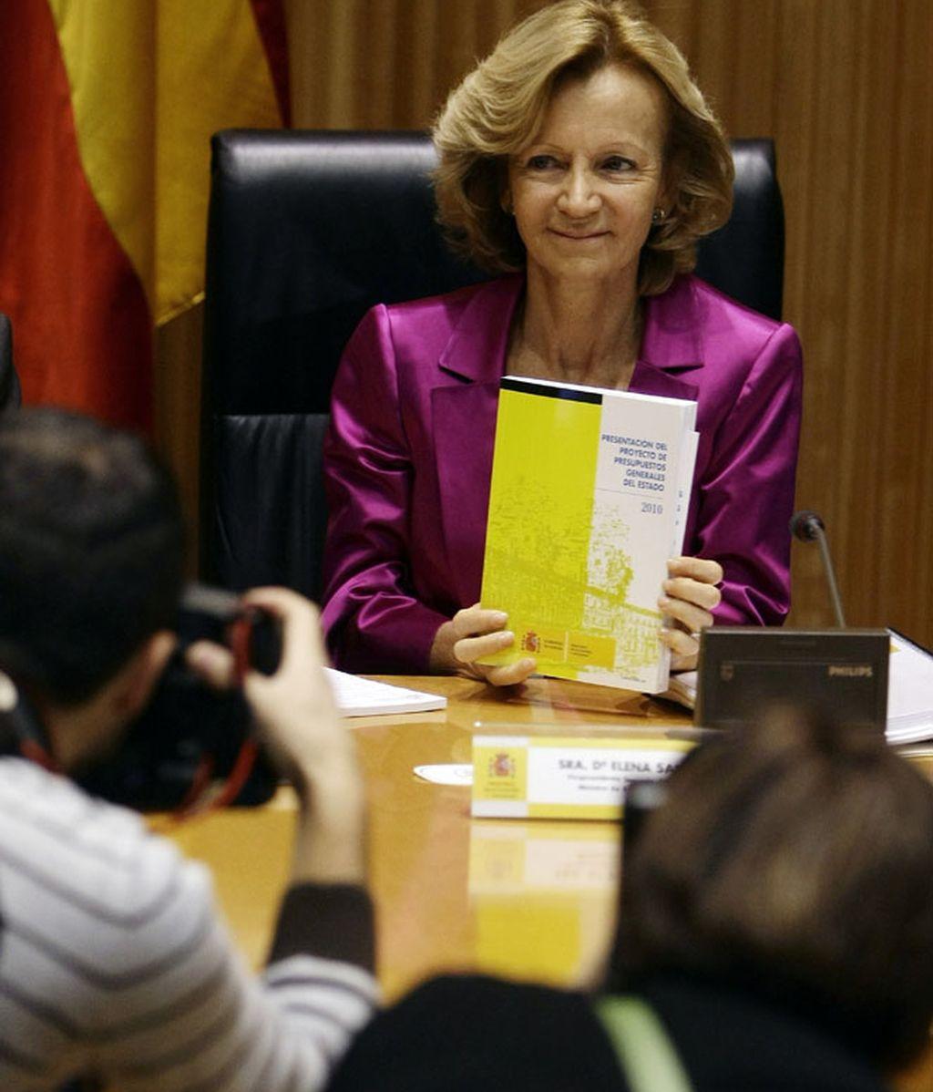Elena Salgado presenta los PGE