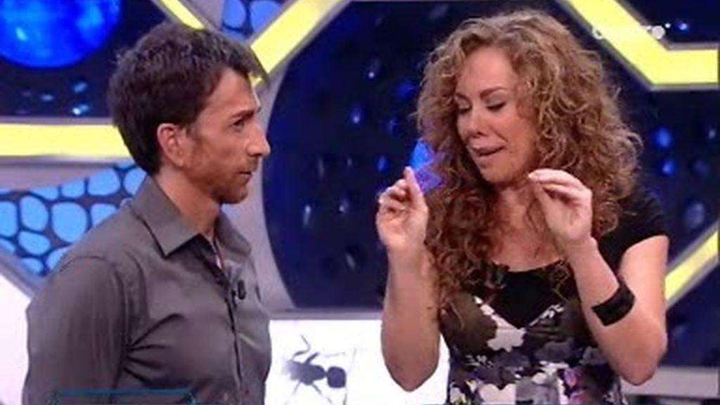 Raquel Martos y Pablo Motos hablan sobre aspectos que no entienden el uno al otro