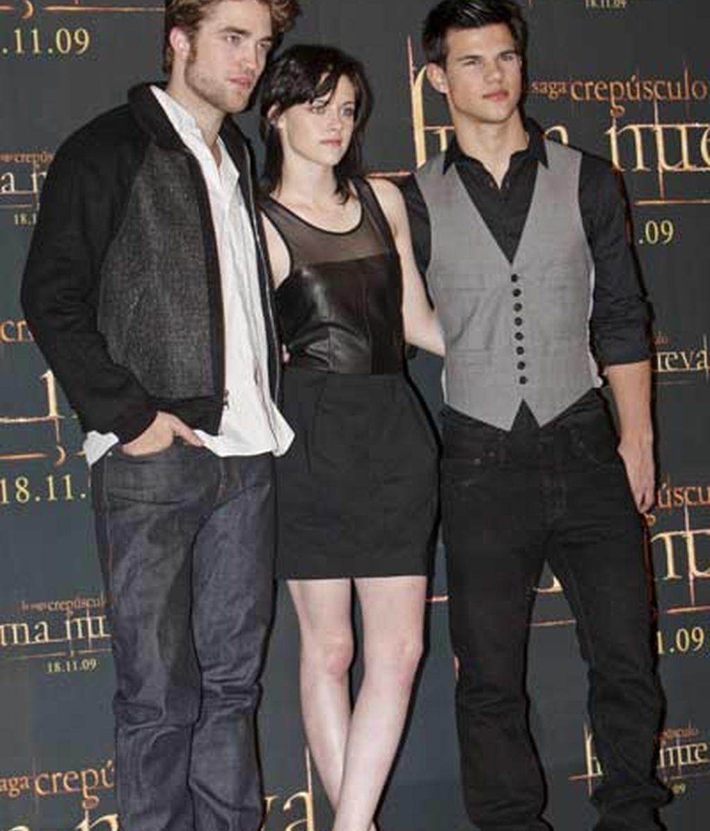 Edward, Bella y Jacob