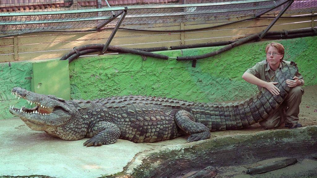 Gavin Hart es amante de los reptiles desde que era un niño