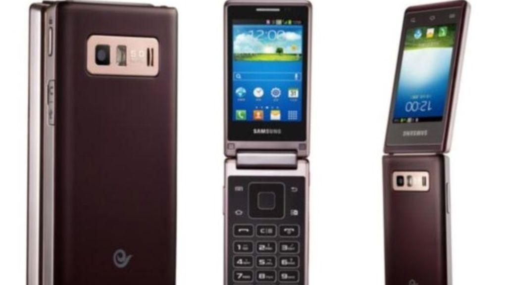 Samsung,smartphone,Hennessy,doble pantalla,tapa,Samsung Hennessy SCH-W789