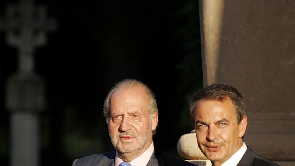El Rey y Zapatero