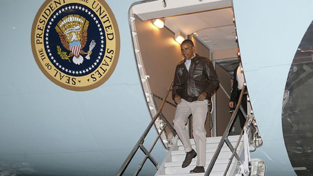 Obama realiza una visita sorpresa a las tropas en Afganistán