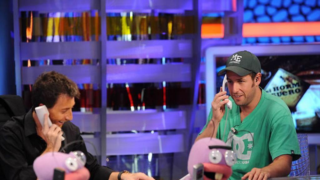Adam Sandler y Pablo Motos: bromas telefónicas