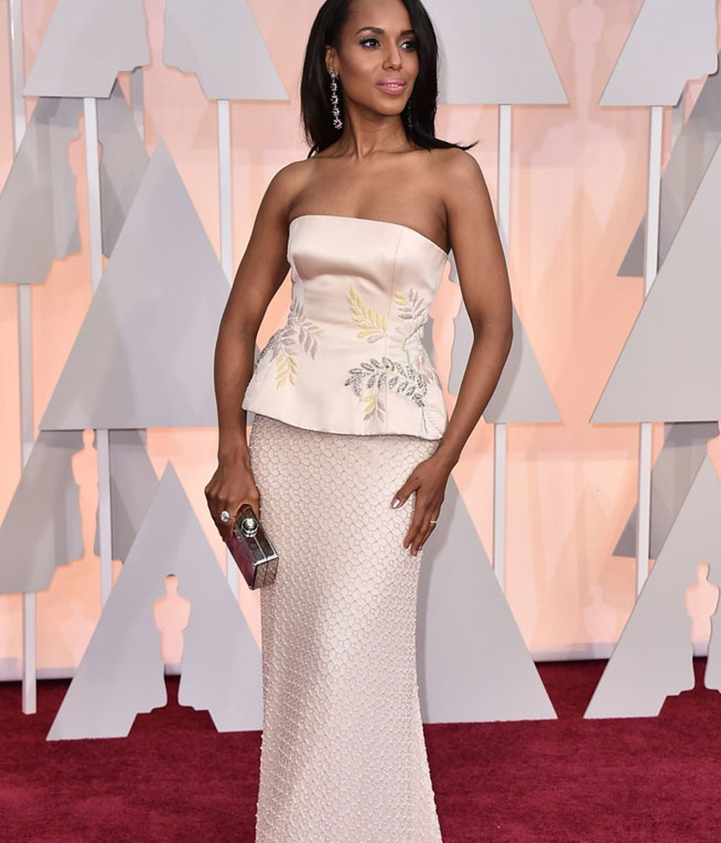 Kerry Washington vestida de Miu Miu