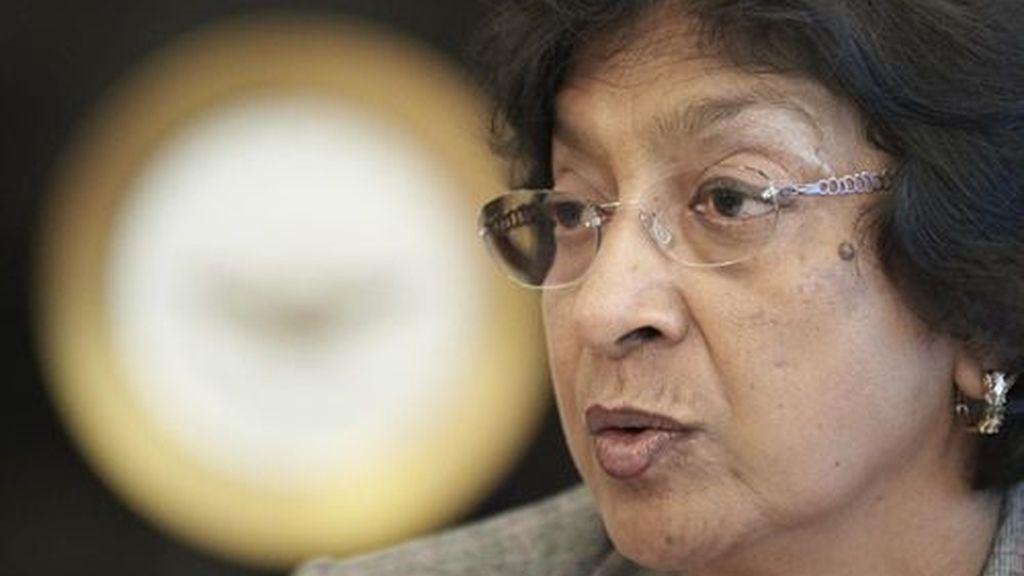 La Alta Comisionada de Naciones Unidas para los Derechos Humanos, Navi Pillay