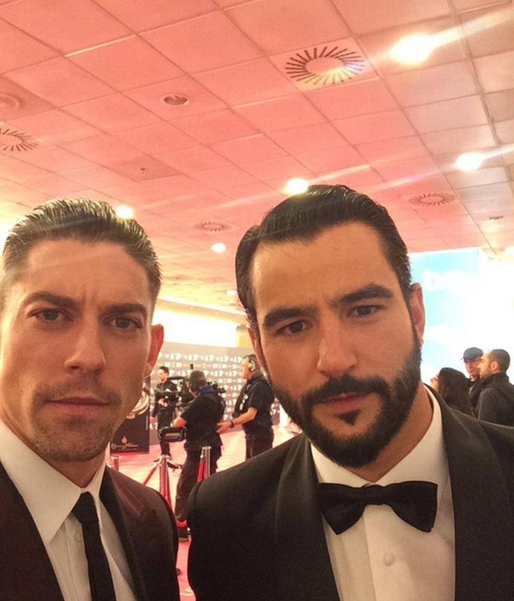Adrián Lastra y Antonio Velázquez
