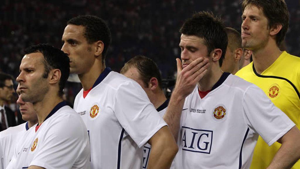 El equipo de Manchester, decepcionado, espera la medalla