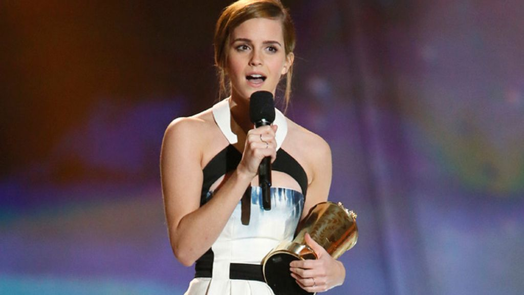 Emma Watson recibe  'The trailblazer'
