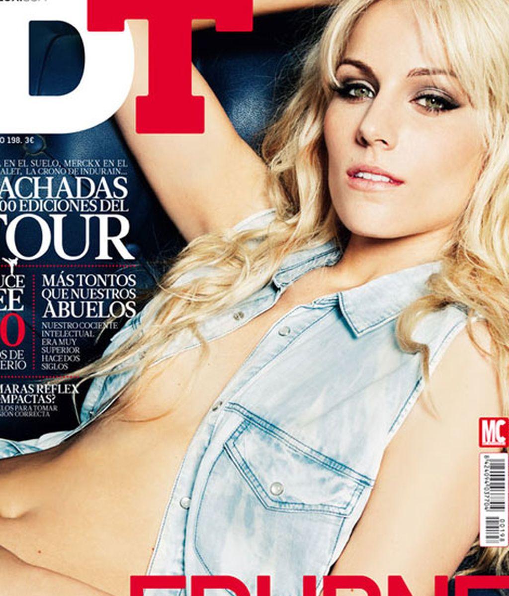 Edurne aparece en el número julio/agosto de la revista DTLux