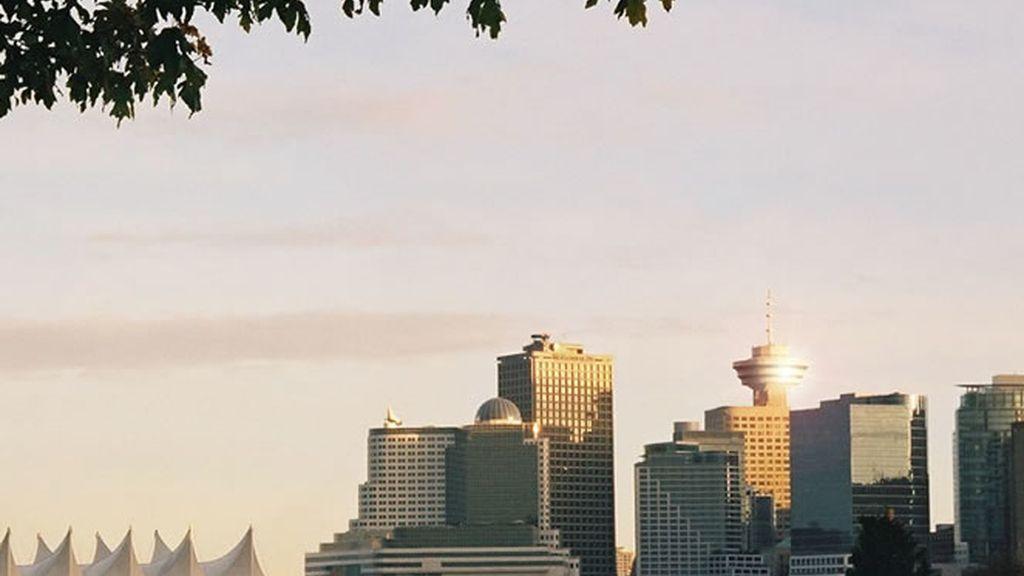 Vista general del puerto de Vancouver