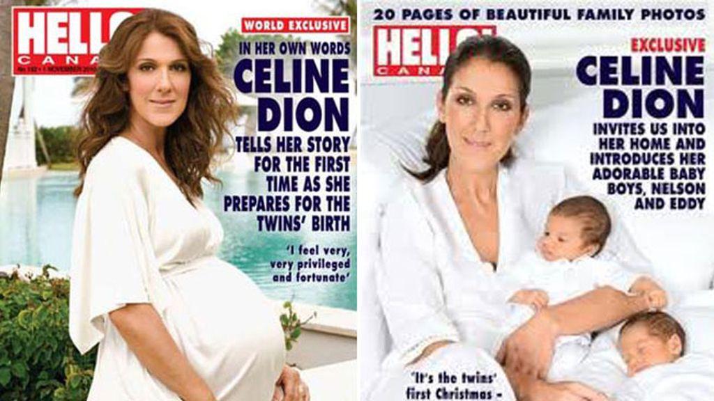 Celine Dion embarazada