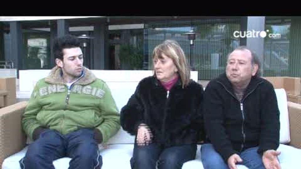 Imágenes inéditas: Esther Legorgeu aconseja a Juan y a sus padres
