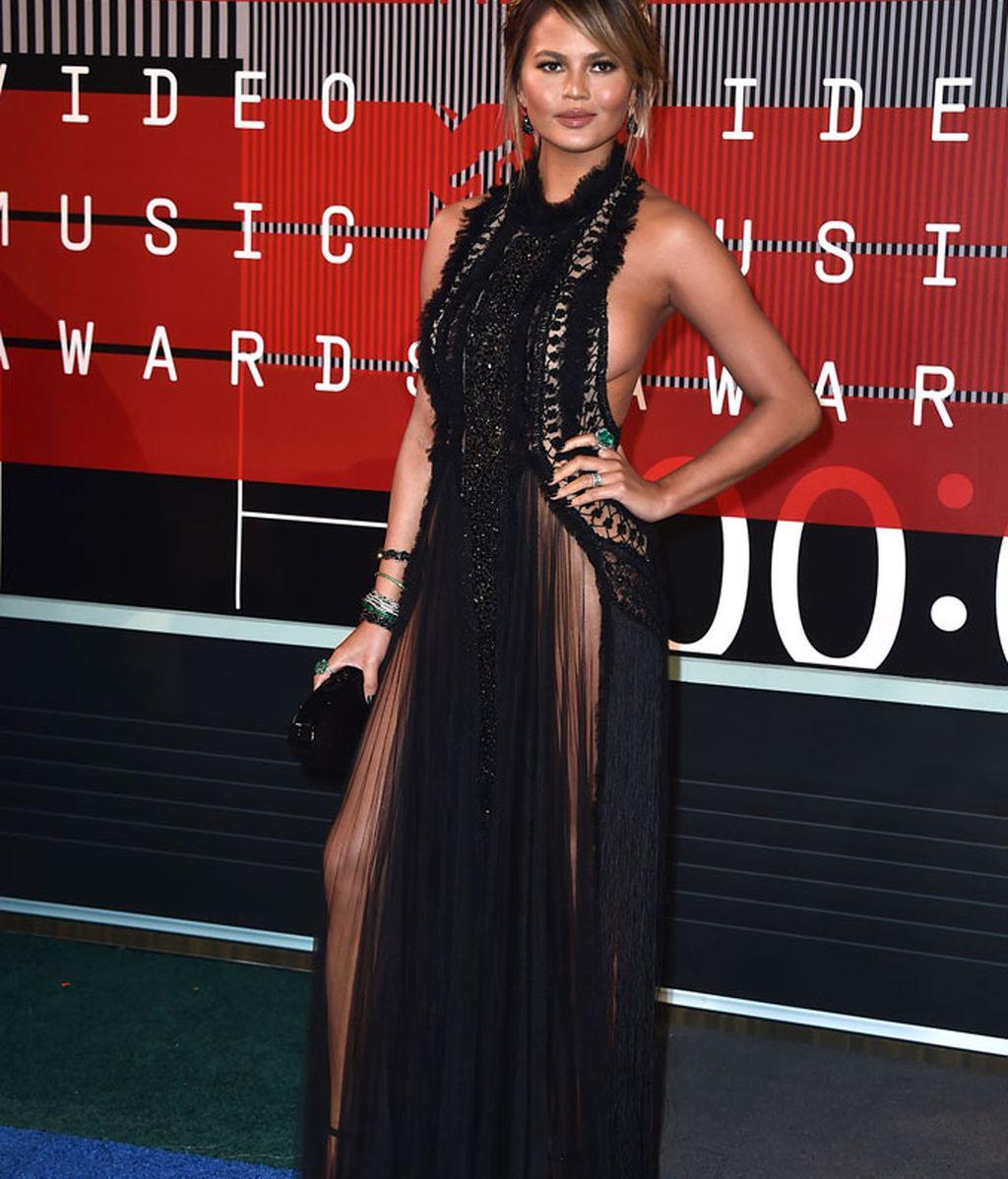 Chrissy Teigen en los premios MTV