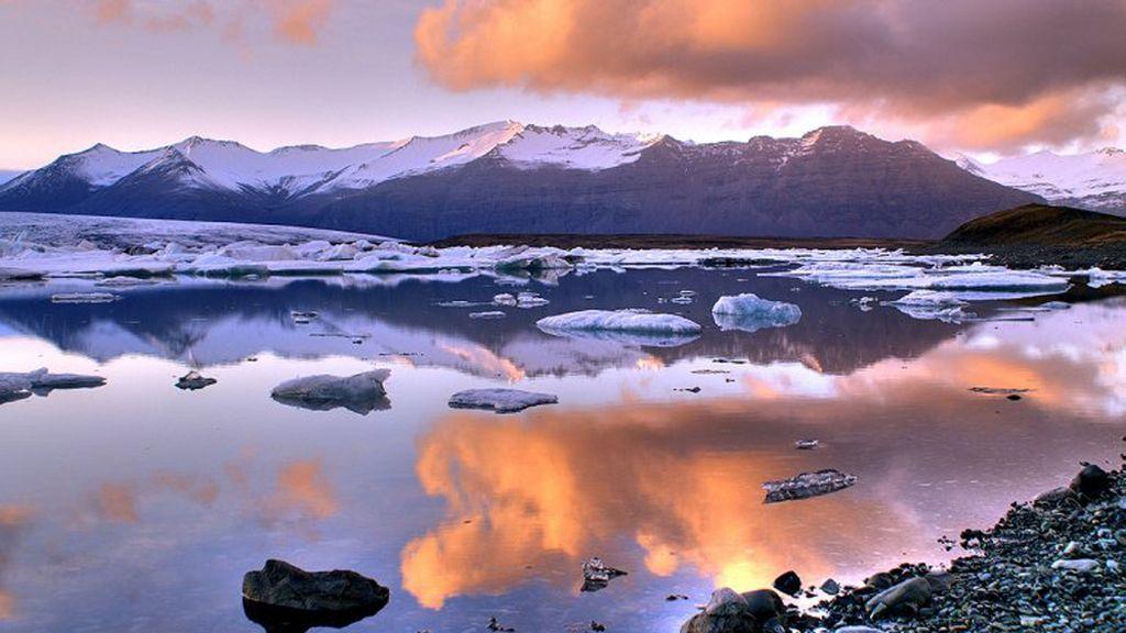 Jökulsárlon, Islandia