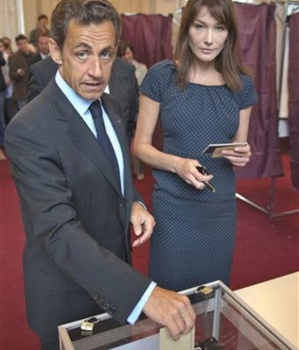 Nicolás Sarkozy afronta las Europeas con seguridad
