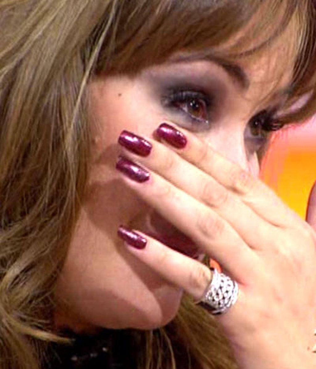 Las lágrimas de Chayo Mohedano
