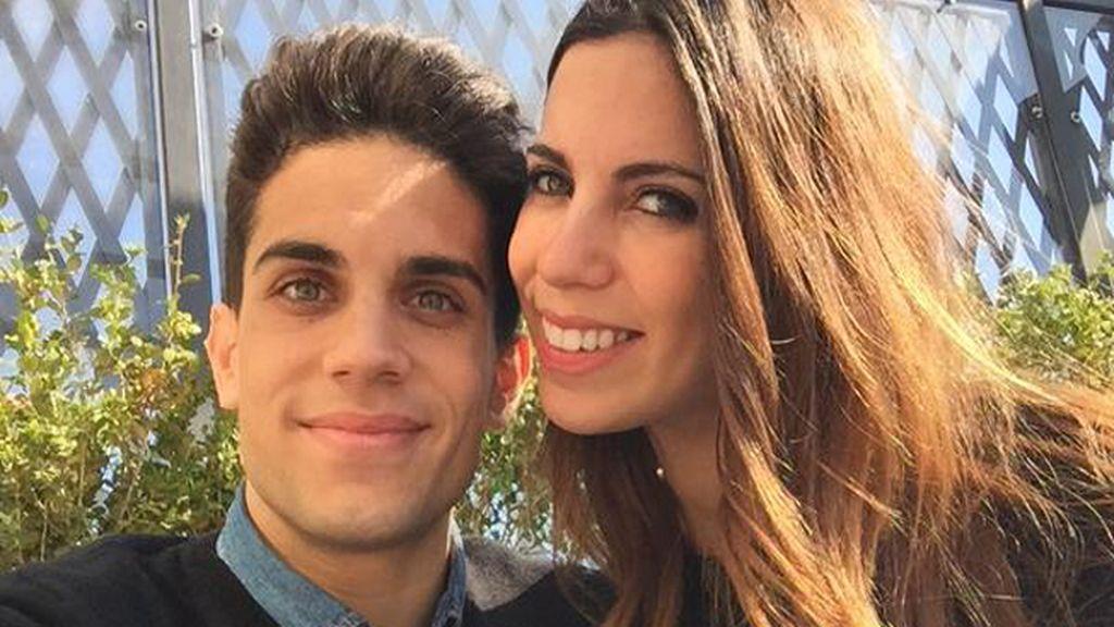 Marc Bartra y Melissa Jiménez anuncian que serán padres por primera vez