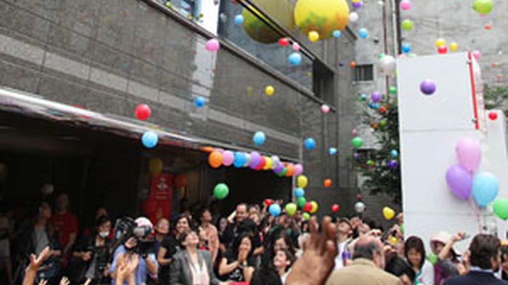 Celebración del día E en Pekín