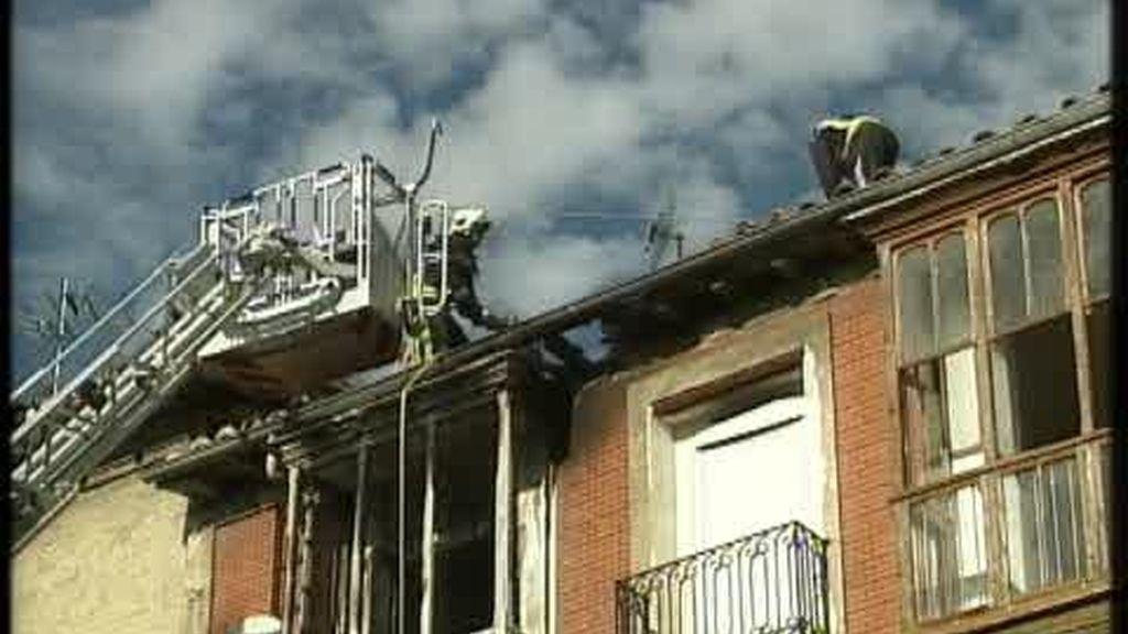 Explosión de una vivienda en Miranda de Ebro