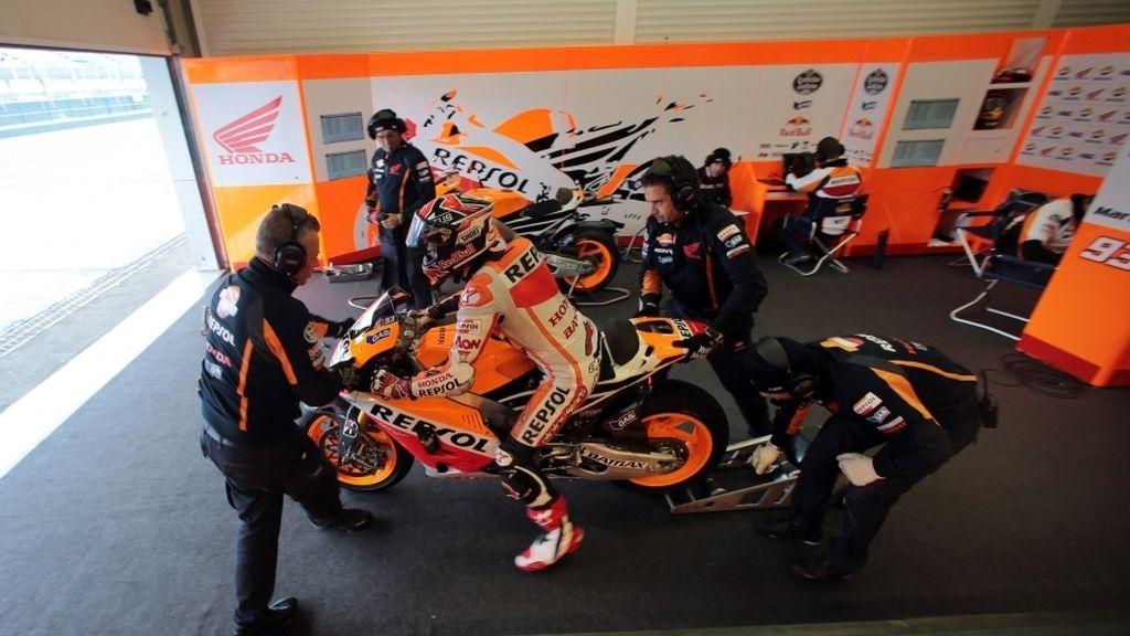 Últimos entrenamientos de pretemporada en MotoGP