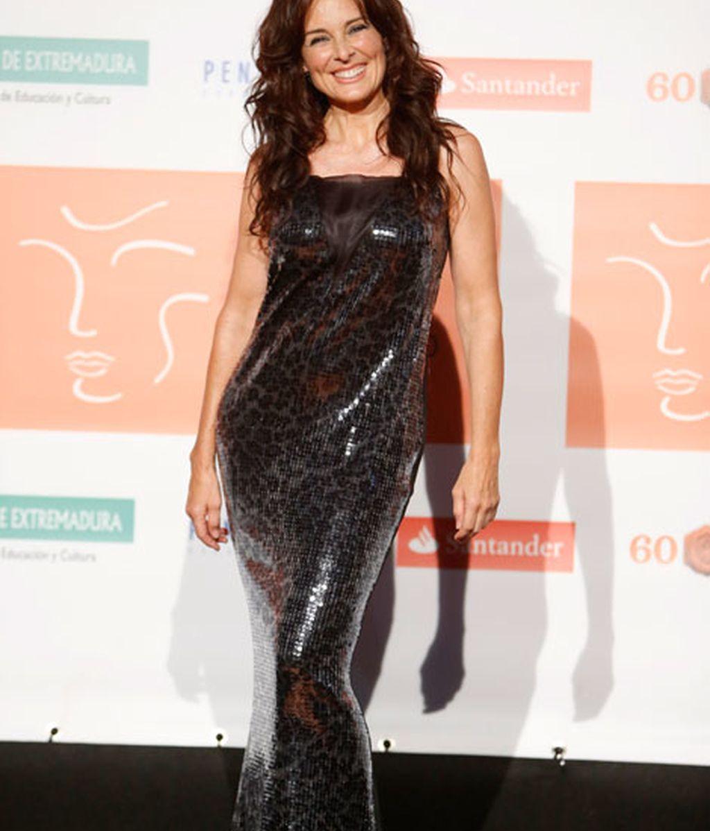 La actriz Silvia Marsó acudió a la cita teatral extremeña