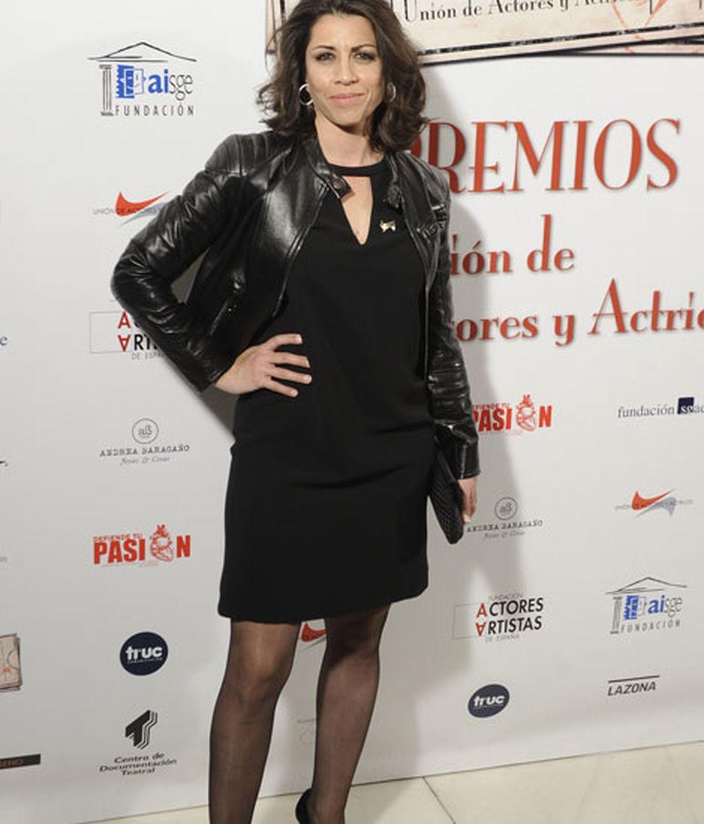 Alicia Borrachero en los Premios Unión de Actores