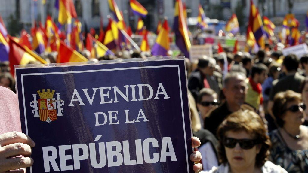 Manifestación por la República
