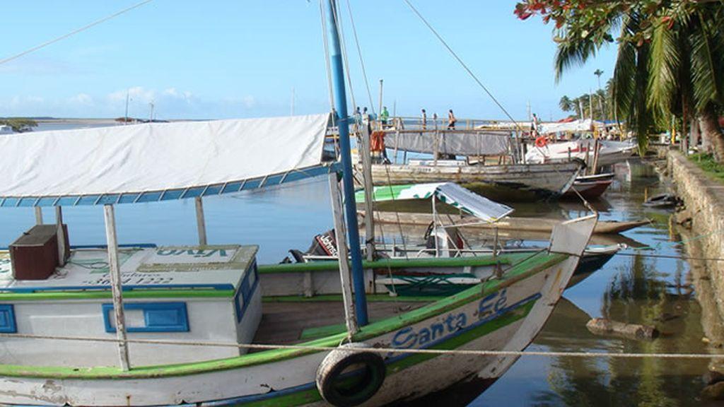 El puerto es el alma de la isla de Boipeba