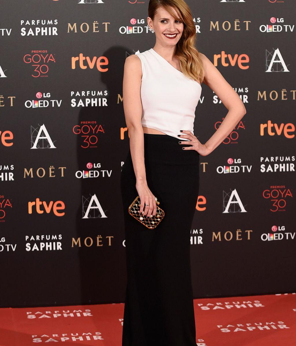 Elena Ballesteros con vestido de Stella McCartney