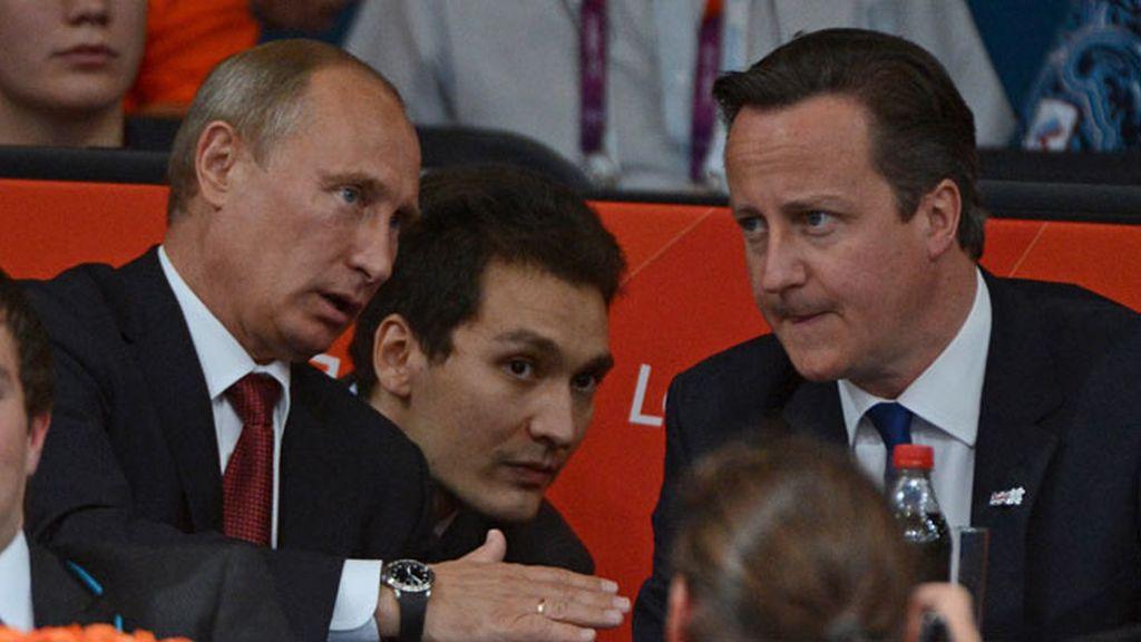Putin y Cameron fueron testigos del oro ruso en judo