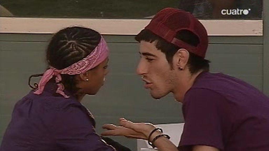 Damaris y Sergio con crisis de pareja