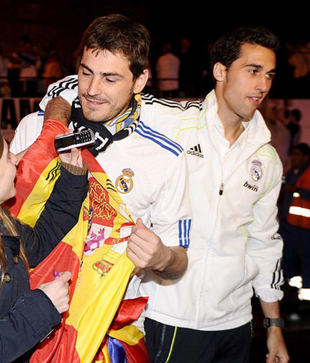 La celebración del Real Madrid