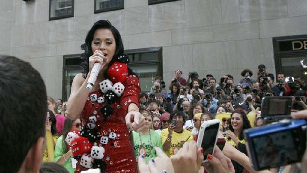 Katy Perry, en NBC's 'Today'