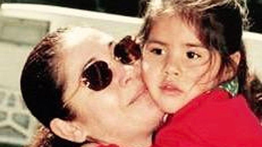 Chabelita y su madre