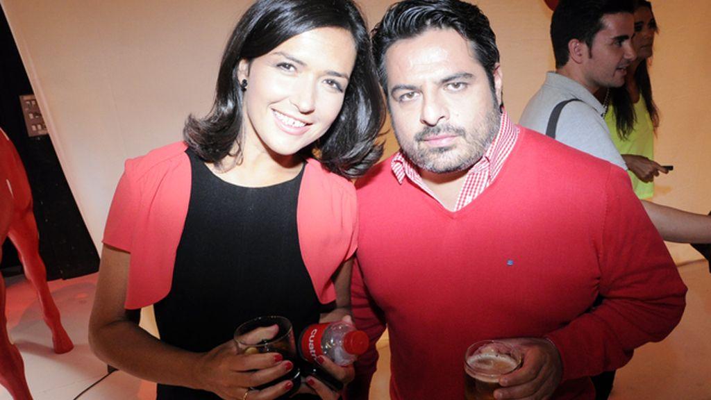 Alejandra Andrade y Jalis de la Serna, de los más veteranos de cuato, con más de 300 programas de Callejeros a la espalda