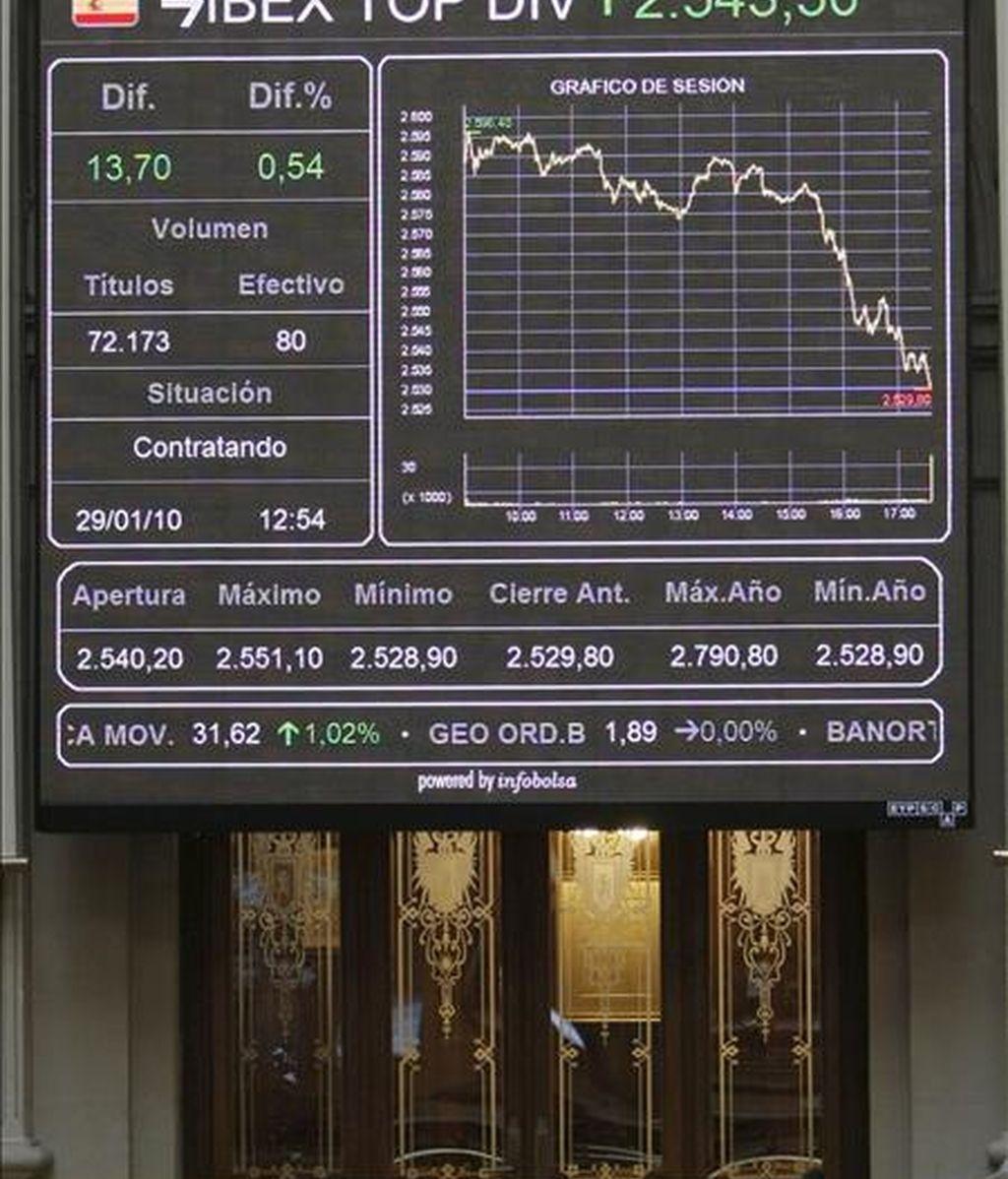 La Bolsa española comenzaba hoy la última jornada de la semana con una decidida tendencia alcista pese a los malos datos de desempleo y al cierre en negativo de ayer en Wall Street, con lo que su principal indicador, el Ibex-35, avanzaba el 1,01 por ciento. EFE