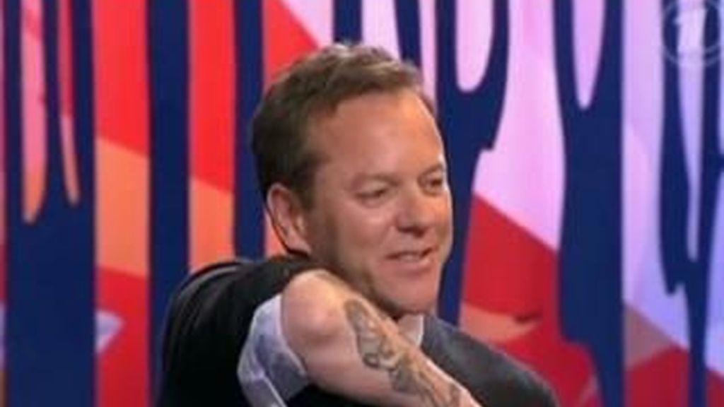 El tatuaje de la Virgen de Jack Bauer es real