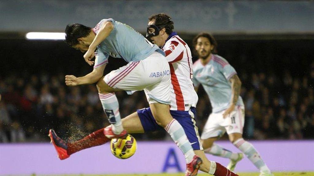 El Atlético de Madrid sucumbe ante el Celta de Vigo