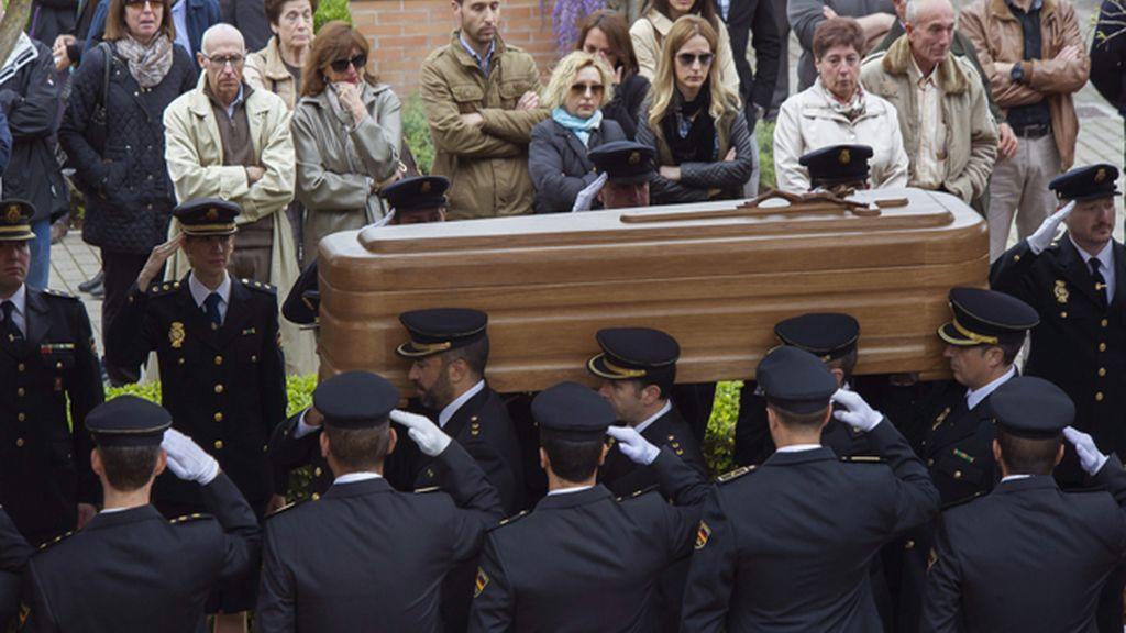 Funeral de José Antonio Martínez en Granada