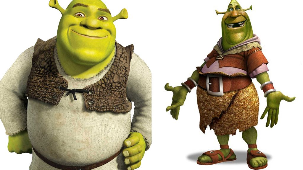 El que iba a ser Shrek