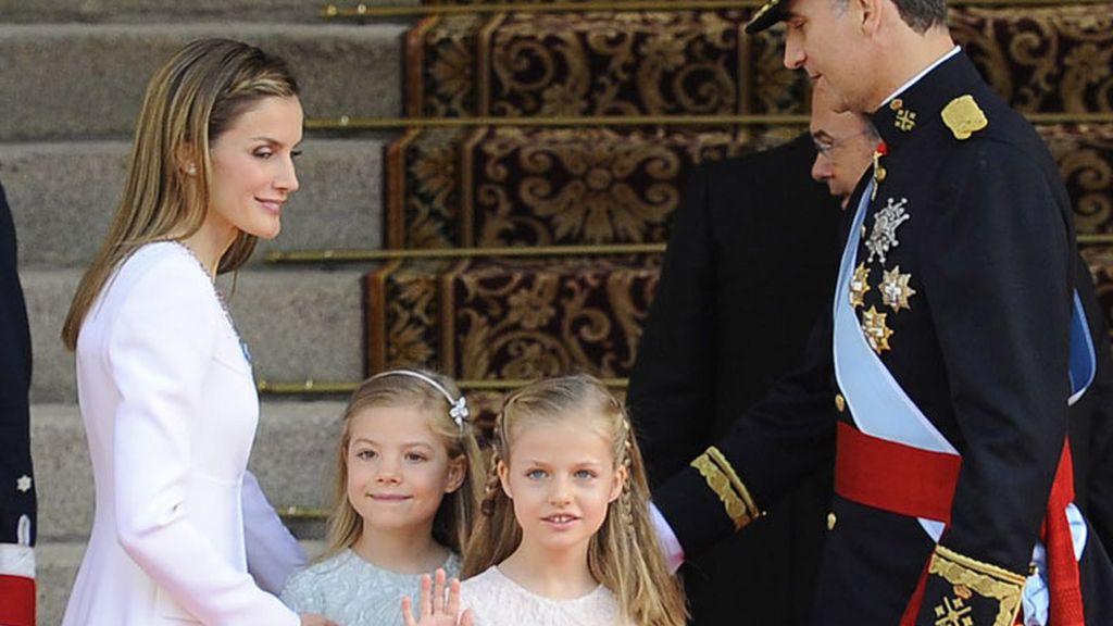 Letizia, las 'princesitas'... Las fotos del gran día