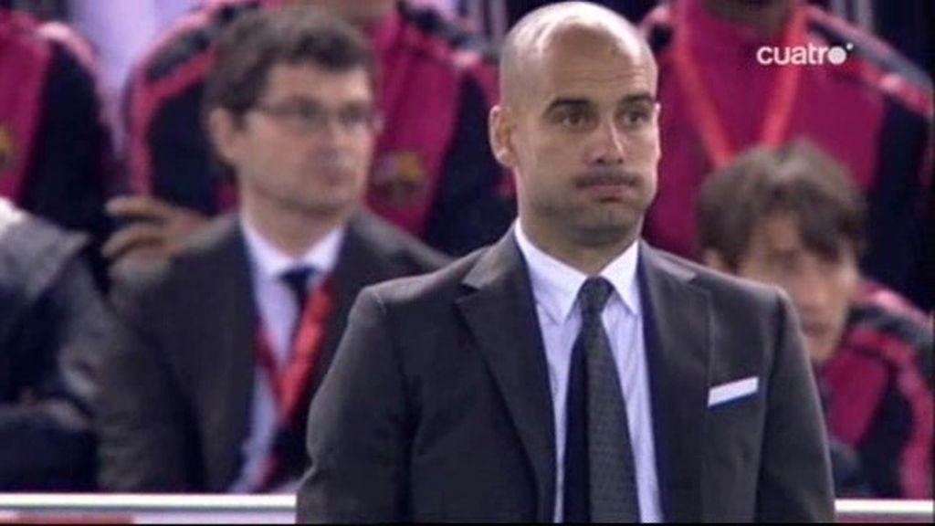Guardiola sabe perder