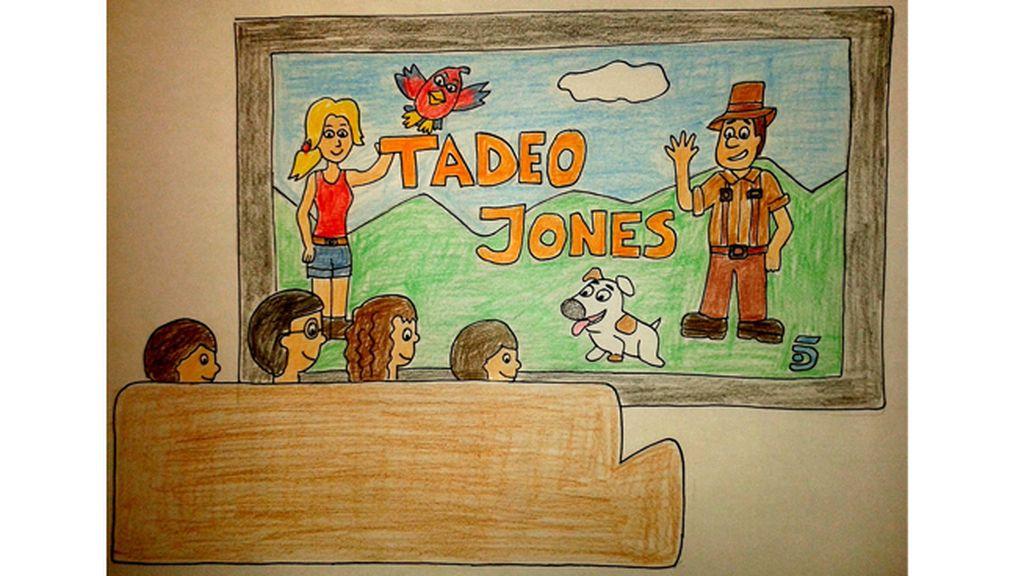 ¡Envíanos tu dibujo de Tadeo Jones!