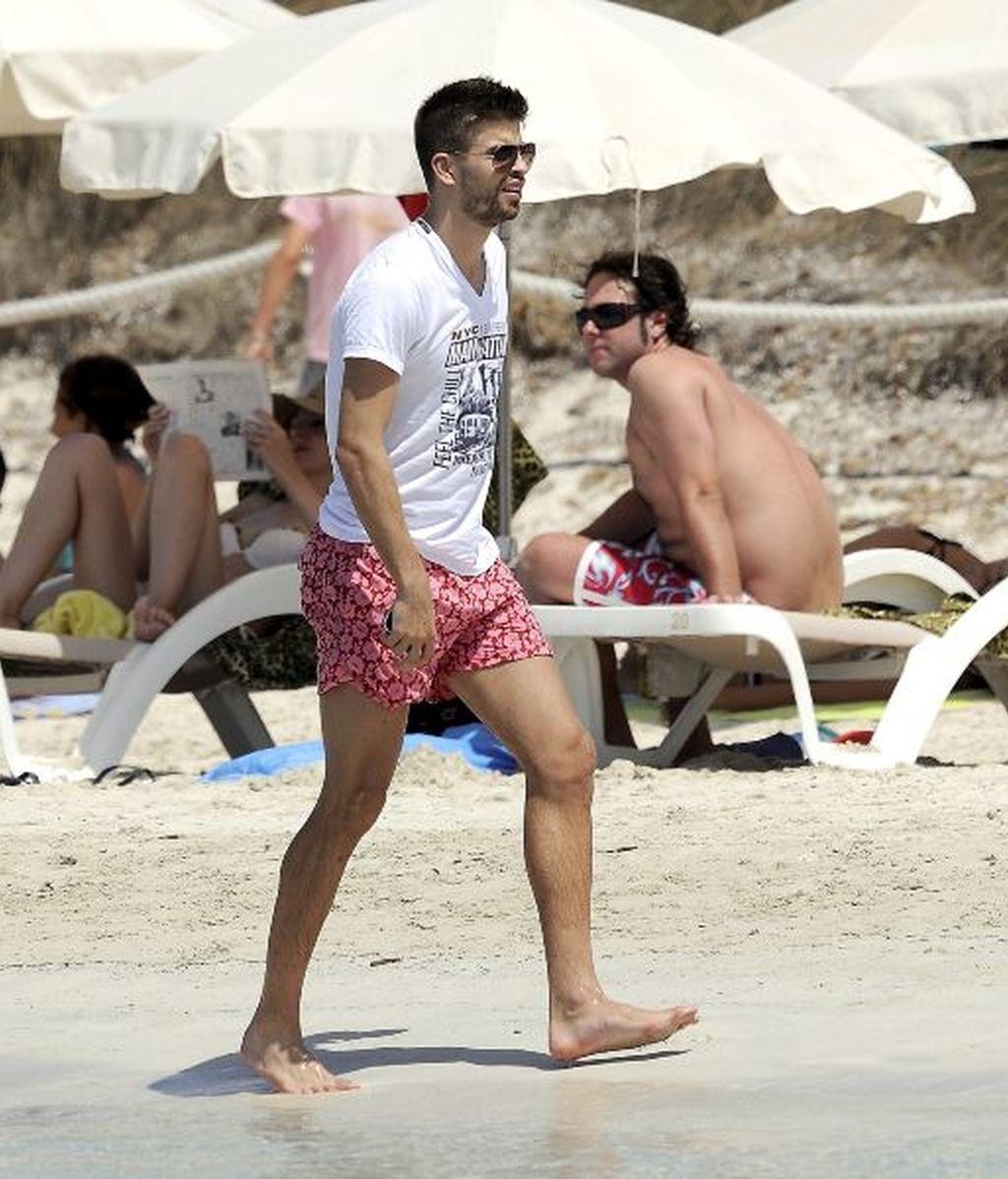 Piqué revoluciona Ibiza