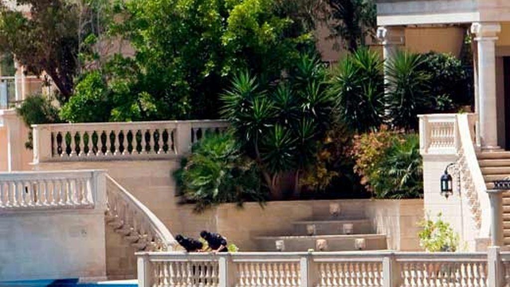 La mansión incautada a los mafiosos