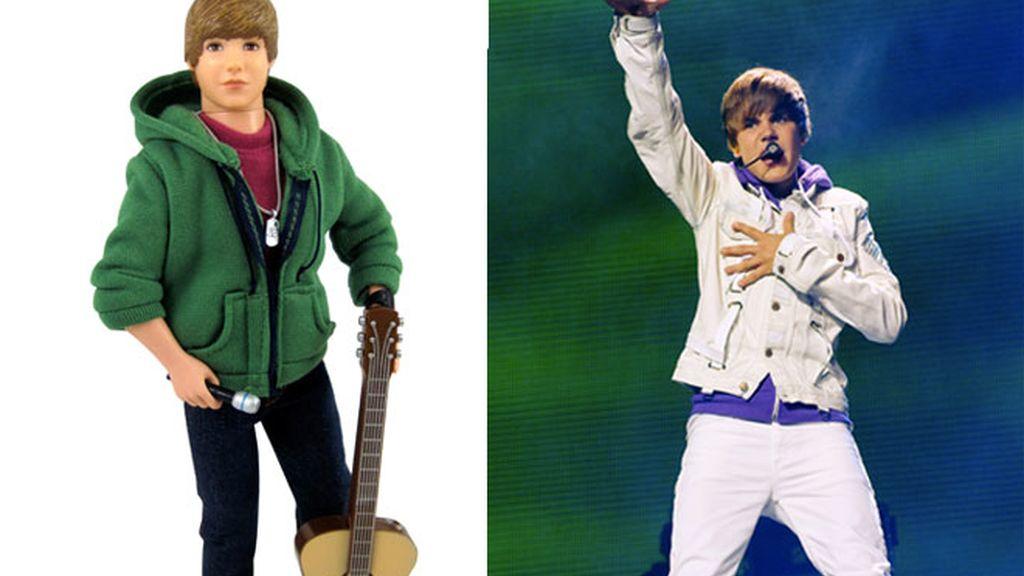 Justin Bieber y otros famosos con mini yo