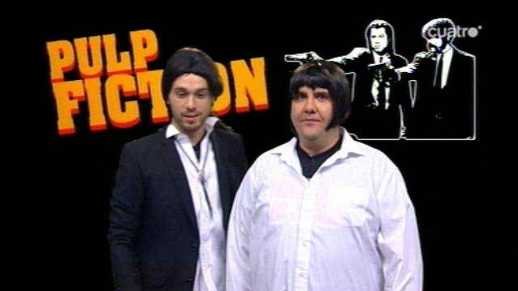 Uma y Travolta en 'Pulp Fiction' abren el Ranking 'Maneras de probar la ley de la gravedad'