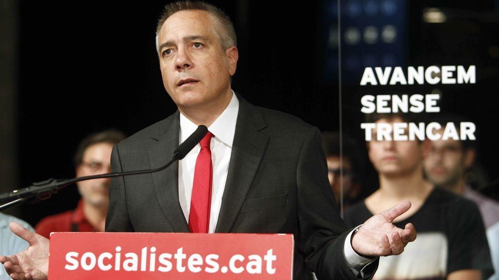 El candidato a la presidencia de la Generalitat por el PSC, Pere Navarro